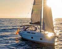 Luxus Privat Segel Boot